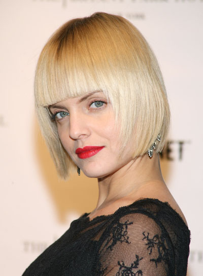 Short Straight Blunt Hairstyles Beauty Riot