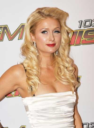 File 4994 Paris Hilton Curly Romantic Sophisticated Blonde