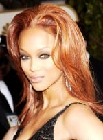 Long, Red Hairstyles for Oblong Faces