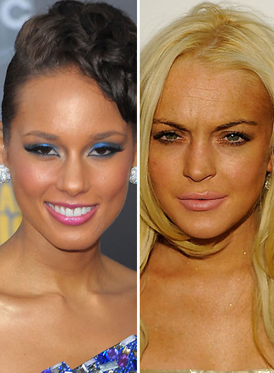 Worst Makeup Worn By Hollywood Celebrities Adorable She: 12 Worst Makeup Trends
