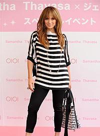 Jennifer Lopez Cute Beach Fashion