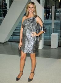 Heidi Klum '80s Fashion Trend