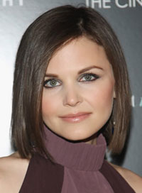 Best Haircut for Round Faces Ginnifer Goodwin