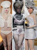 Lady Gaga's Extreme Looks