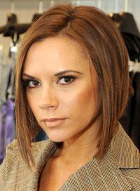 Most popular hairstyles Victoria Beckham