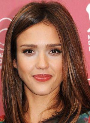 Celebrity hair color addicts beauty riot celebrity hair color jessica alba brunette urmus Images