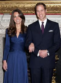 prince william, kate middleton engagement