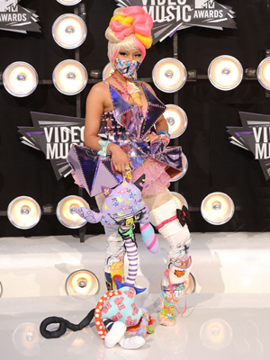 nicki minaj mtv vma 2011