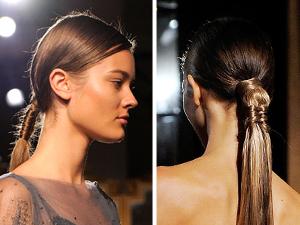 fashion week 2011 fishtail braid