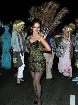 halloween costume 2011 peacock