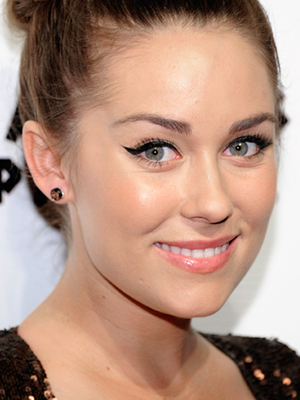 lauren conrad cat eye makeup