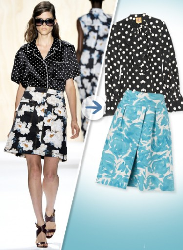 How to Mix and Match Prints