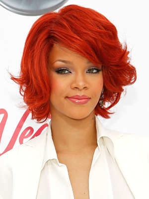 rihanna haircut and hairstyle