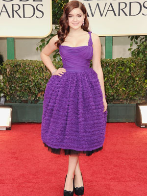 ariel winter golden globes 2012