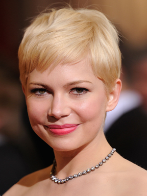 michelle williams oscar 2012 makeup