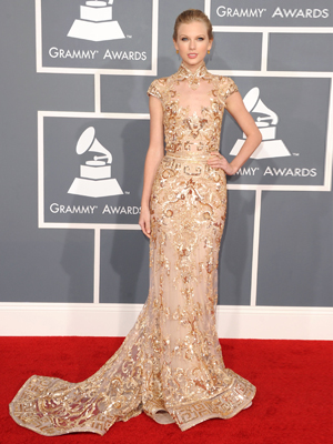 grammy awards 2012 taylor swift