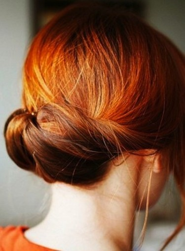 Updos for Thick Hair