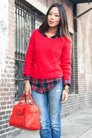 Outfits With Sweaters And Flannels