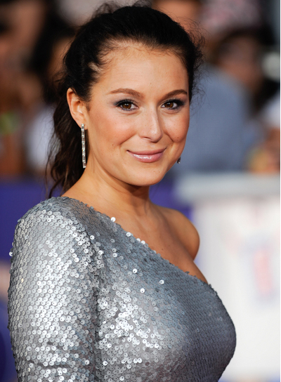 Alexa Vega Long, Romantic, Wavy, Brunette, Ponytail