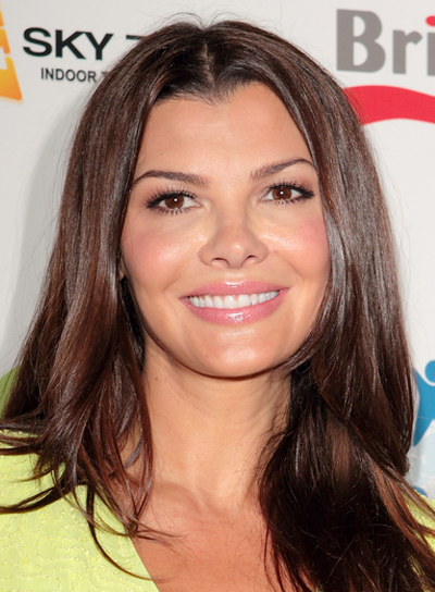 Ali Landry's Long, Romantic, Layered, Brunette Hairstyle