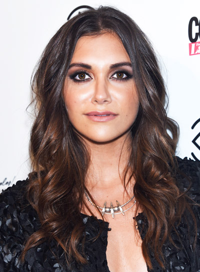 Alyson Stoner's Long, Brunette, Wavy, Sexy, Tousled Hairstyle