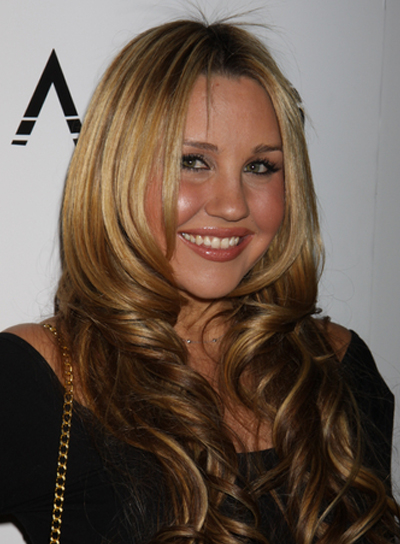 Amanda Bynes Curly, Chic, Sophisticated, Blonde, Prom Hairstyle