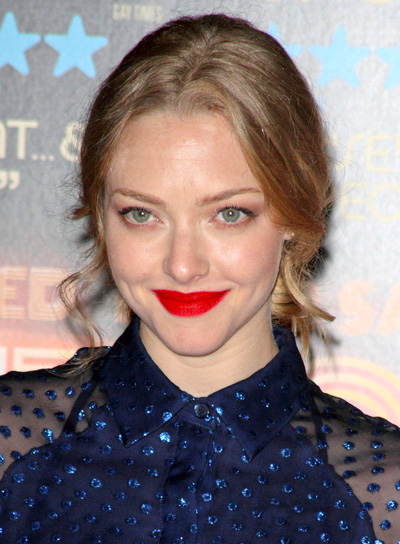 Amanda Seyfried's Long, Blonde, Sophisticated, Ponytail Hairstyle