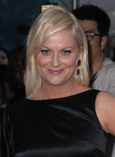 Amy Poehler Sophisticated, Blonde Hairstyle