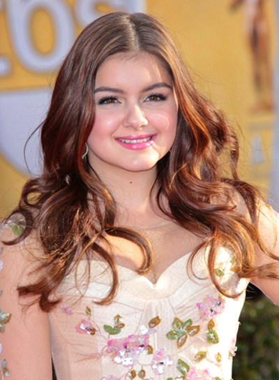Ariel Winter's Long, Brunette, Wavy, Romantic Hairstyle