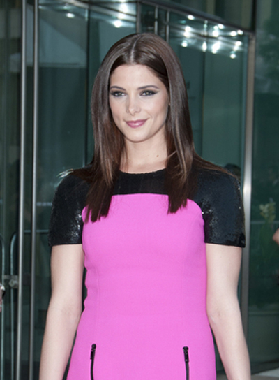 Ashley Greene Long, Straight, Brunette Hairstyle
