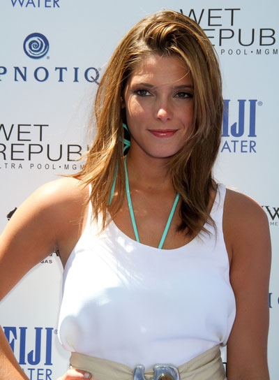 Ashley Greene Medium, Tousled Hairstyle