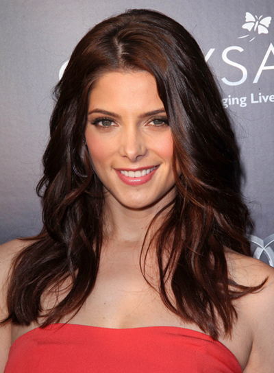 Ashley Greene Sophisticated, Brunette Hairstyle
