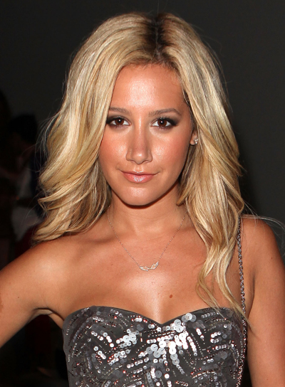 Ashley Tisdale Sexy, Thick, Blonde Hairstyle