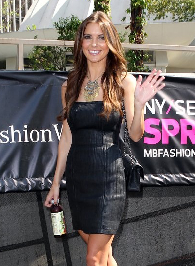 Audrina Patridge Long, Brunette Hairstyle