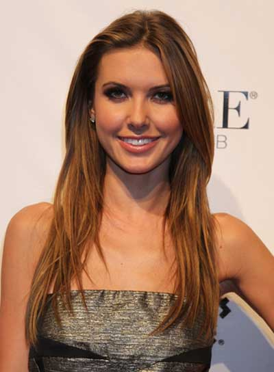 Audrina Patridge Long, Sexy, Straight Hairstyle