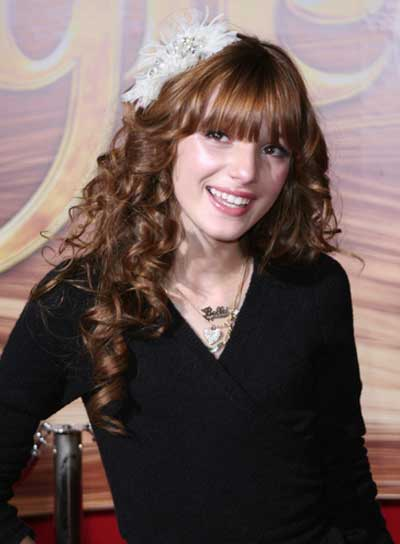 Long, Curly Hairstyles with Bangs , Beauty Riot