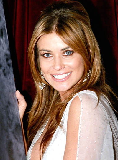 Carmen Electra Party-Ready Half Updo