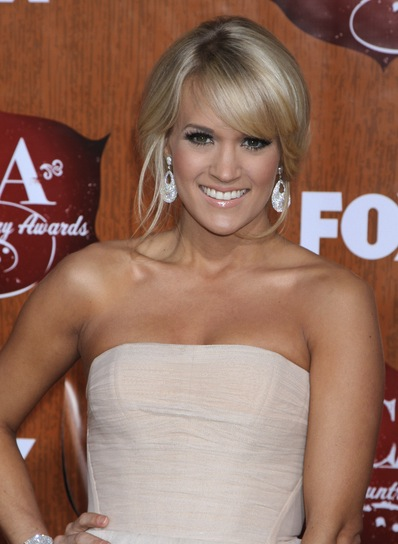 Carrie Underwood Sexy, Romantic, Sophisticated, Blonde, Party Updo