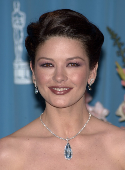 Catherine Zeta-Jones Wedding Updo