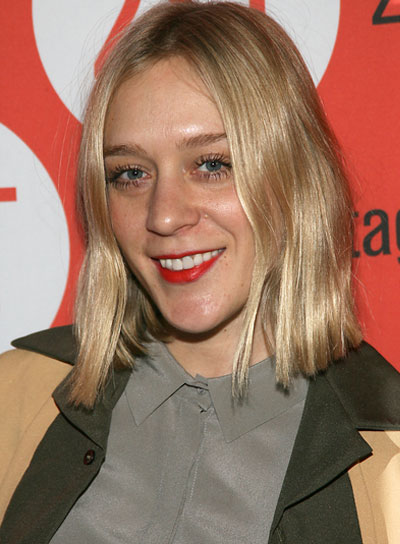 Chloe Sevigny Short, Straight, Chic, Blonde Hairstyle