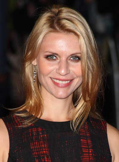 Claire Danes Medium, Straight Hairstyle