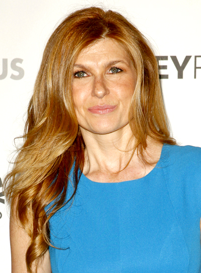 Connie Britton's Long, Wavy, Romantic, Chic Hairstyle