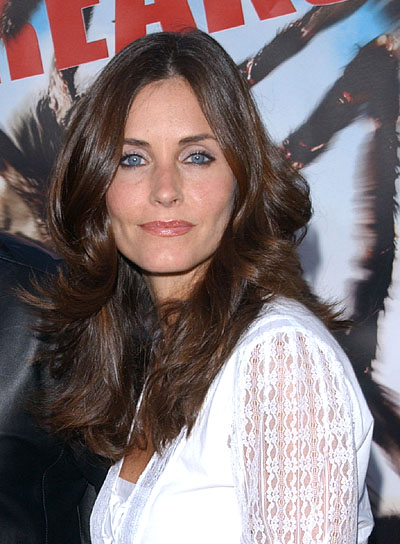 Courteney Cox-Arquette Long, Wavy, Layered Hairstyle