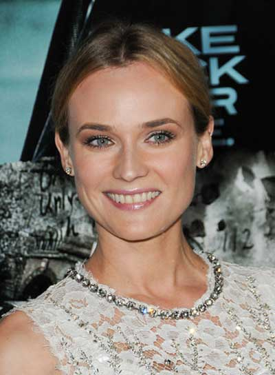 Diane Kruger Sophisticated, Blonde Updo