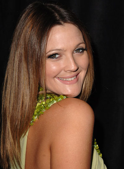 Drew Barrymore Long, Sedu Hairstyle