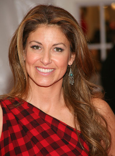 Dylan Lauren Long, Wavy, Tousled, Brunette Hairstyle