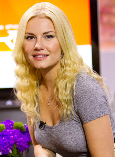 Elisha Cuthbert Long, Wavy, Blonde Hairstyle