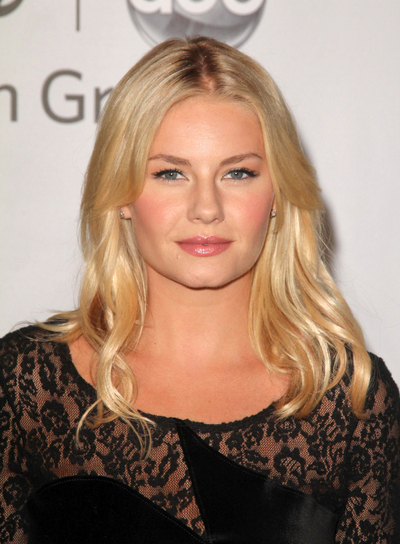 Elisha Cuthbert Medium, Sexy, Sophisticated, Blonde Hairstyle