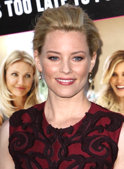 Elizabeth Banks' Sophisticated, Chic, Blonde, Updo Hairstyle