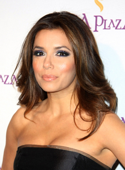 Eva Longoria Sophisticated, Prom Hairstyle